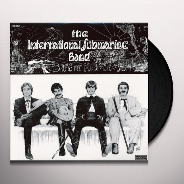 International Submarine Band SAFE AT HOME Vinyl Record
