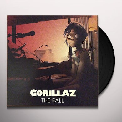 Gorillaz FALL Vinyl Record