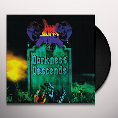 Dark Angel DARKNESS DESCENDS Vinyl Record