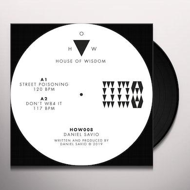 Daniel Savio STREET POISONING Vinyl Record