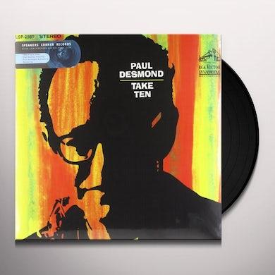 Paul Desmond TAKE TEN Vinyl Record