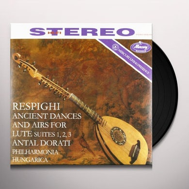 ANCIENT AIRS & DANCES FOR LUTE & ORCHESTRA Vinyl Record