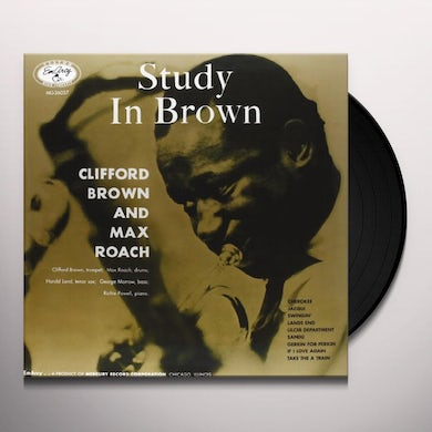 Clifford Brown STUDY IN BROWN Vinyl Record