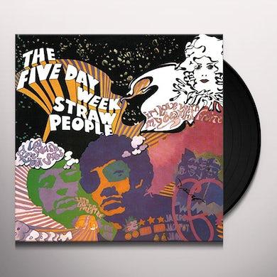 FIVE DAY WEEK STRAW PEOPLE Vinyl Record