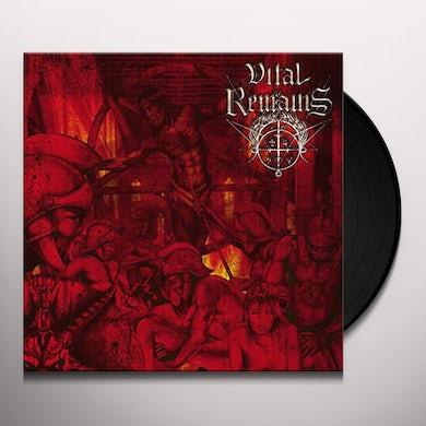 Vital Remains DECHRISTIANIZE Vinyl Record