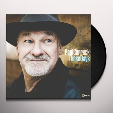 Paul Carrack THESE DAYS Vinyl Record
