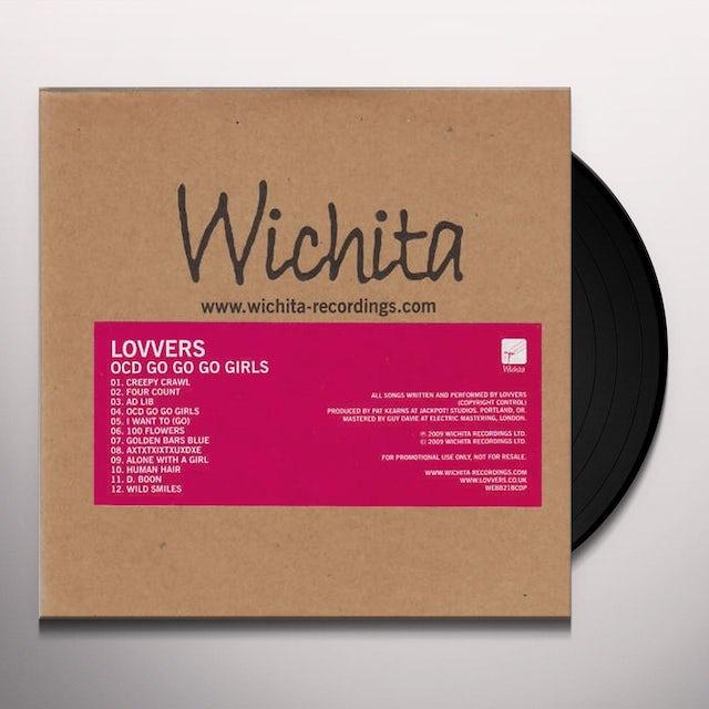 LOVVERS OCD GO GO GO GIRLS Vinyl Record