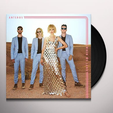 Anteros WHEN WE LAND Vinyl Record