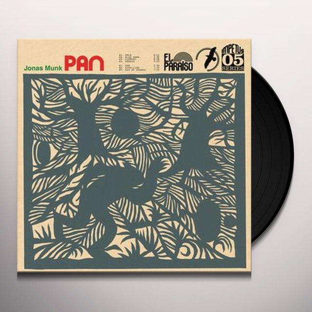 Jonas Munk PAN Vinyl Record