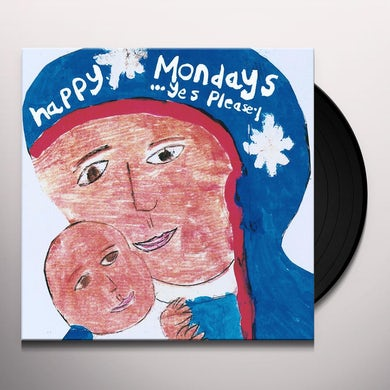Happy Mondays YES PLEASE Vinyl Record