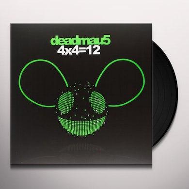 Deadmau5 4X4=12 Vinyl Record - Sweden Release
