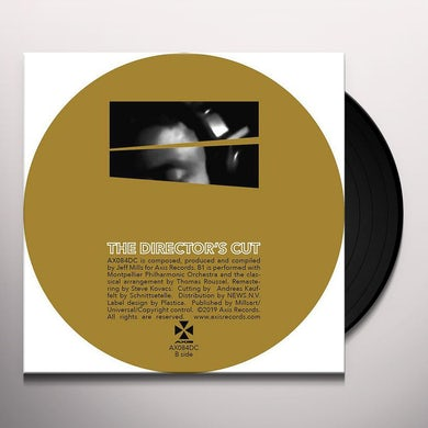 Jeff Mills DIRECTOR'S CUT CHAPTER 6 Vinyl Record
