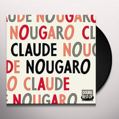 Claude Nougaro DOUBLE BEST OF Vinyl Record