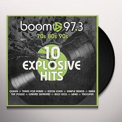 BOOM 97.3:10 EXPLOSIVE HITS / VARIOUS Vinyl Record