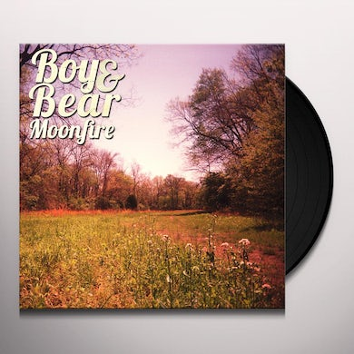 Boy & Bear MOONFIRE Vinyl Record