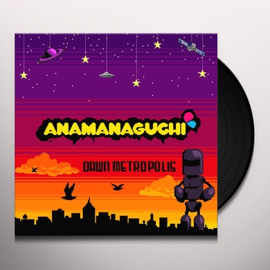 Anamanaguchi Dawn Metropolis (Orange/Maroon/Purple Vi Vinyl Record