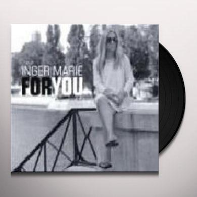 Inger Marie Gundersen FOR YOU Vinyl Record