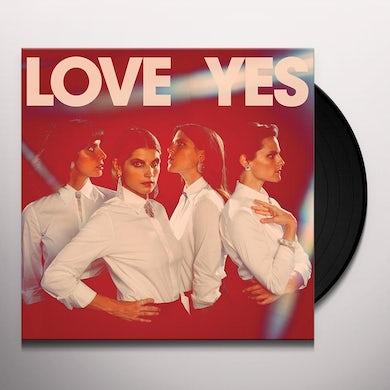 LOVE YES Vinyl Record