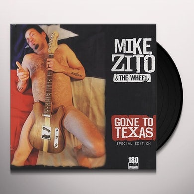 Mike Zito GONE TO TEXAS Vinyl Record