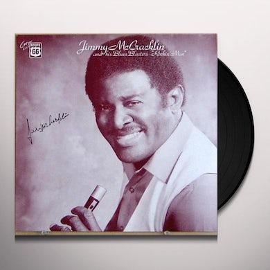 Jimmy Mccracklin ROCKIN MAN Vinyl Record