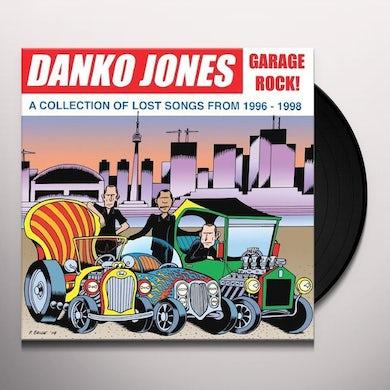 Danko Jones GARAGE ROCK! A COLLECTION OF L Vinyl Record - UK Release