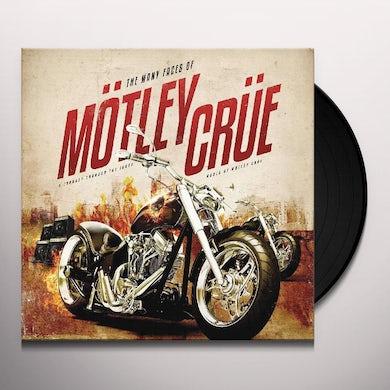 Mötley Crüe LP - The Many Faces Of Motley Crue (Vinyl)