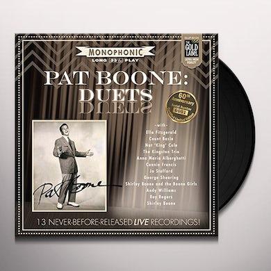 Pat Boone DUETS Vinyl Record