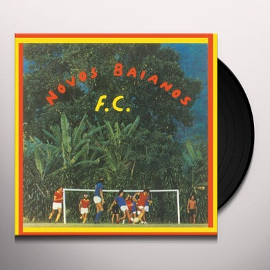 Novos Baianos FUTEBOL CLUBE Vinyl Record