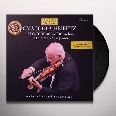 Salvatore Accardo / Laura Manzini OMAGGIO A HEIFETZ Vinyl Record