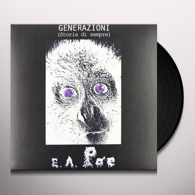 E.A. Poe GENERAZIONI Vinyl Record