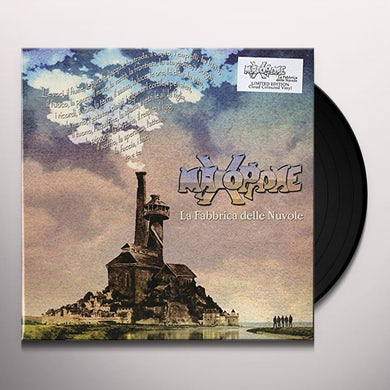 Maxophone LA FABBRICA DELLE NUVOLE (BLUE CLOUD VINYL) Vinyl Record
