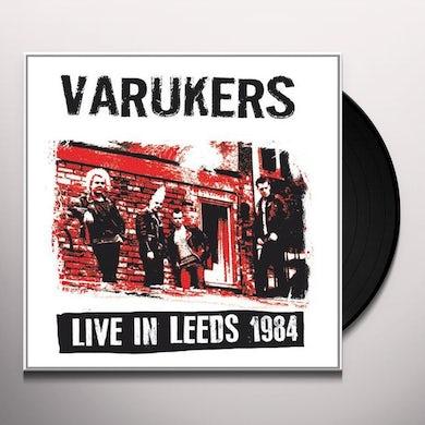 The Varukers LIVE IN LEEDS 1984 Vinyl Record