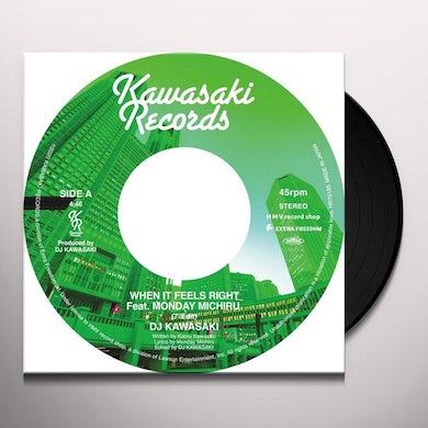 DJ KAWASAKI WHEN IT FEELS RIGHT Vinyl Record