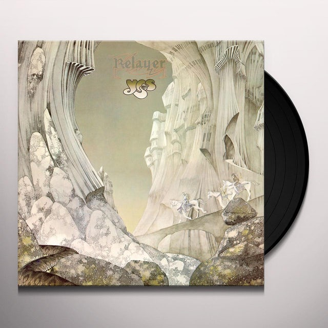 Yes RELAYER Vinyl Record