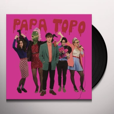 Papa Topo OPALO NEGRO Vinyl Record
