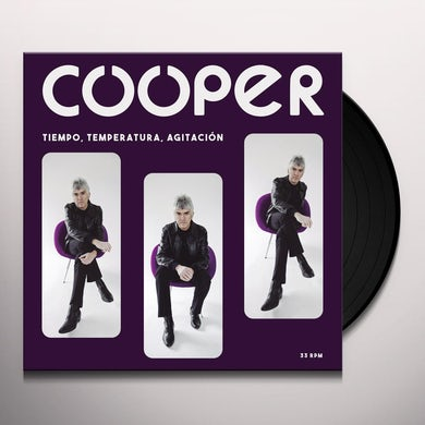 Cooper TIEMPO TEMPERATURA & AGITACION Vinyl Record
