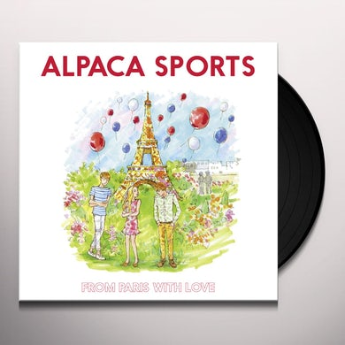Alpaca Sports FROM PARIS WITH LOVE Vinyl Record