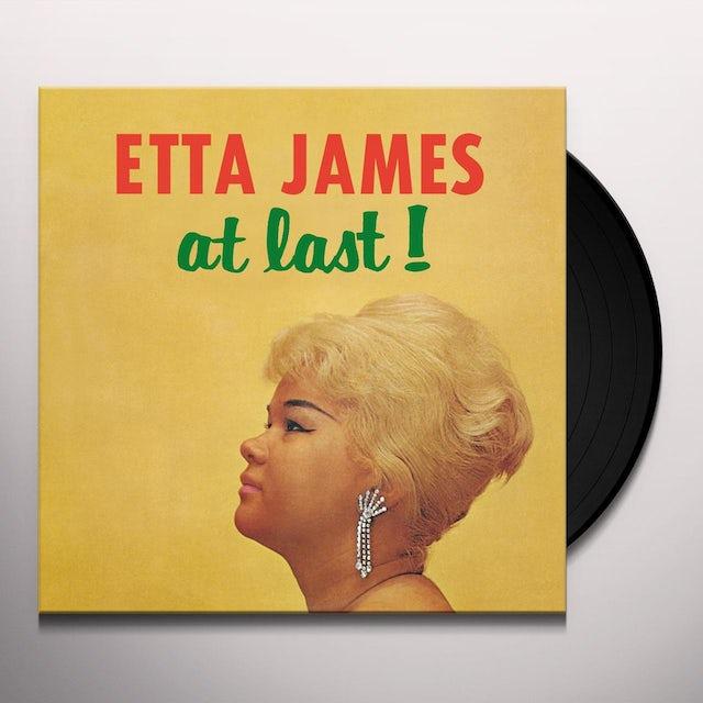Etta James AT LAST (BONUS TRACKS) Vinyl Record - 180 Gram Pressing