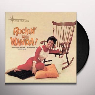Wanda Jackson ROCKIN WITH WANDA (BONUS TRACKS) Vinyl Record