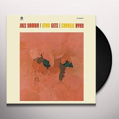 Stan Getz JAZZ SAMBA (BONUS TRACK) Vinyl Record - 180 Gram Pressing