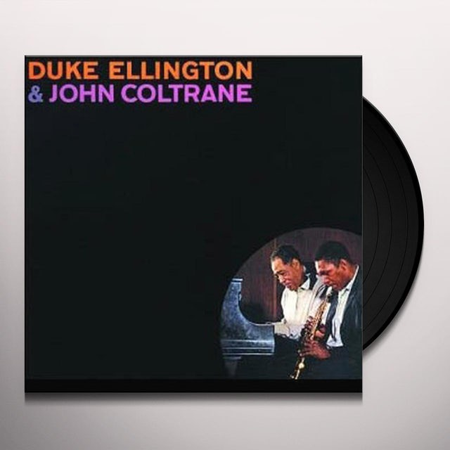 Duke Ellington / John Coltrane ELLINGTON & COLTRANE (BONUS TRACK) Vinyl Record - 180 Gram Pressing