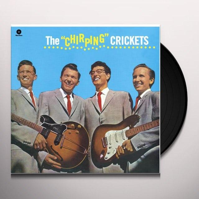 Buddy Holly / Crickets CHIRPING CRICKETS (BONUS TRACK) Vinyl Record - 180 Gram Pressing