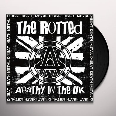 Rotted APATHY IN THE UK Vinyl Record