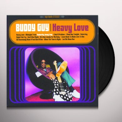 Buddy Guy HEAVY LOVE Vinyl Record
