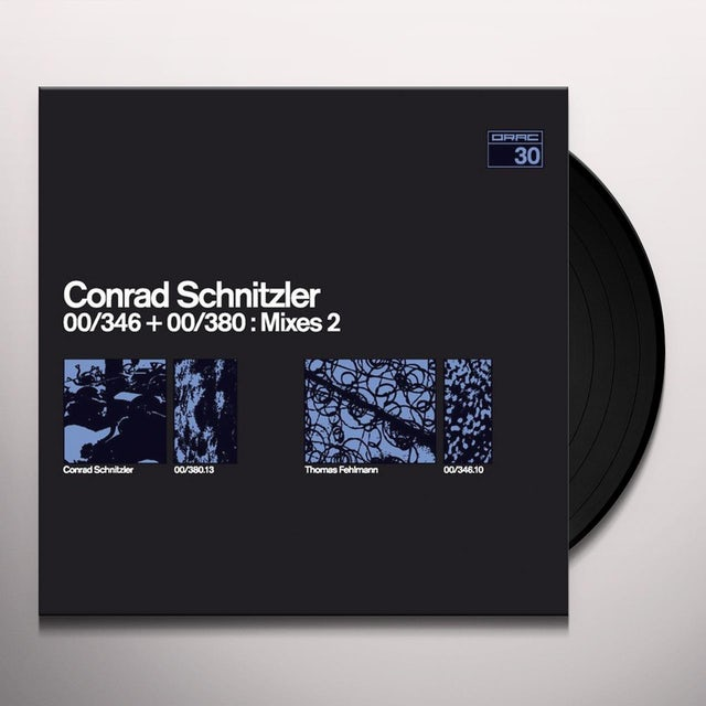 Conrad Schnitzler 00 / 364 + 00 / 380 MIXES 2 Vinyl Record