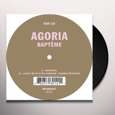 Agoria BAPTEME Vinyl Record