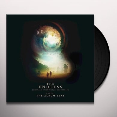 Album Leaf ENDLESS / O.S.T. - Limited Edition Blue Colored Vinyl Record