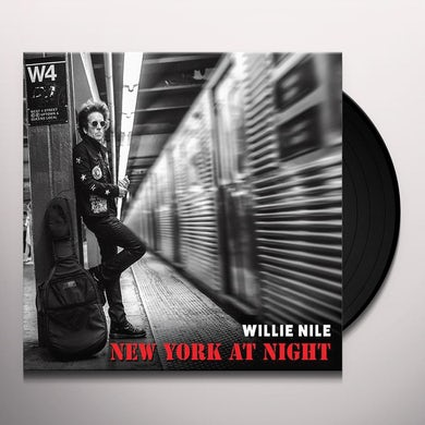 New York At Night Vinyl Record