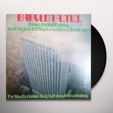 Helmuth Brandenburg BABYLON A.M.C. Vinyl Record