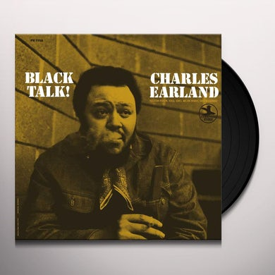 BLACK TALK Vinyl Record